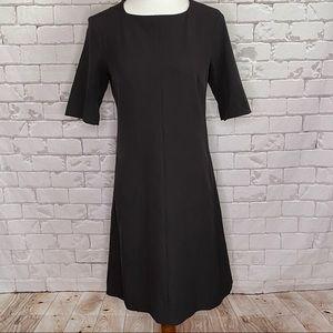 MM Lafleur Shift Dress Brown Size 8